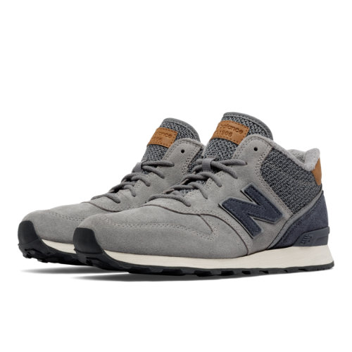 New Balance 696 Mid-Cut Women's Outdoor Classics Shoes - Grey (WH696LCC)