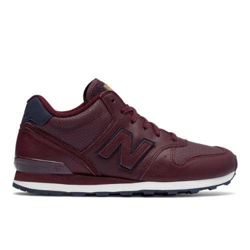 New Balance Mid-Cut 696 Women's Running Classics Shoes - Chocolate Cherry / Navy (WH696PKP)