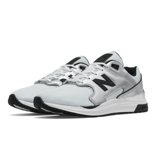 New Balance 1550 Molten Metals Women's Sport Style Shoes - Silver / White (WL1550MB)