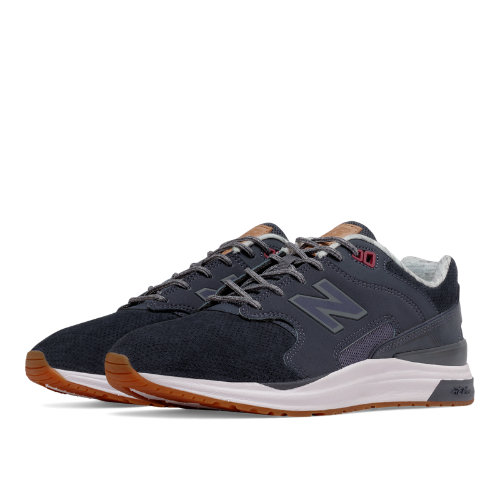 New Balance 1550 Suede Women's Sport Style Shoes - Grey / Blue (WL1550NA)