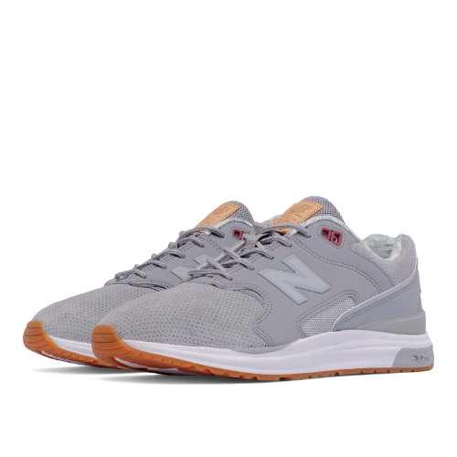 New Balance 1550 Suede Women's Sport Style Shoes - Grey / Silver (WL1550NB)