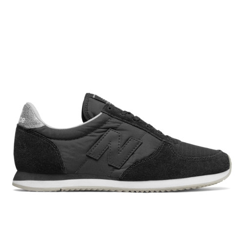 New Balance 220 Women's Running Classics Shoes - Black / Grey (WL220BM)