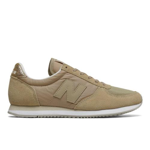 New Balance 220 Women's Running Classics Shoes - Tan (WL220SG)