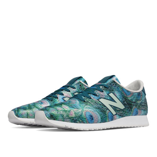 New Balance 420 Feather Graphic Women's Running Classics Shoes - Teal / Bayside (WL420DPE)