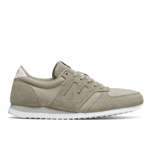 New Balance 420 Women's Running Classics Sneakers Shoes - Grey / Pink (WL420MBA)