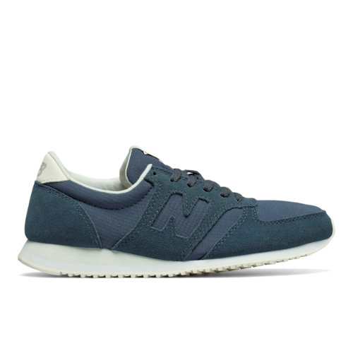 New Balance 420 Women's Running Classics Sneakers Shoes - Blue / Off White (WL420MBB)