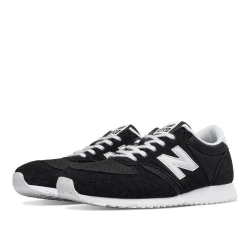 New Balance 420 70s Running Women's Shoes - Black / White (WL420NPF)