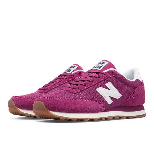 New Balance 501 Women's Running Classics Shoes - Pink (WL501CVA)
