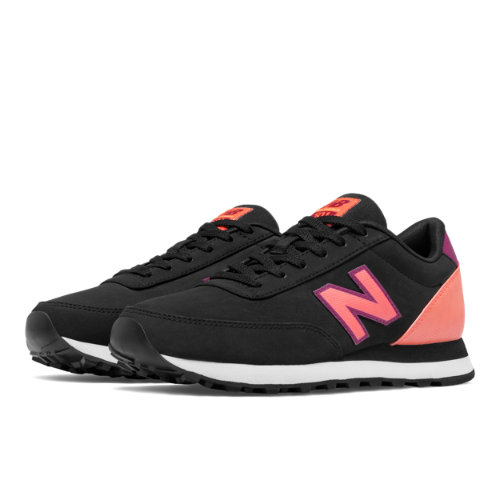 New Balance 501 Women's Running Classics Shoes - Red / Off White (WL501OPA)