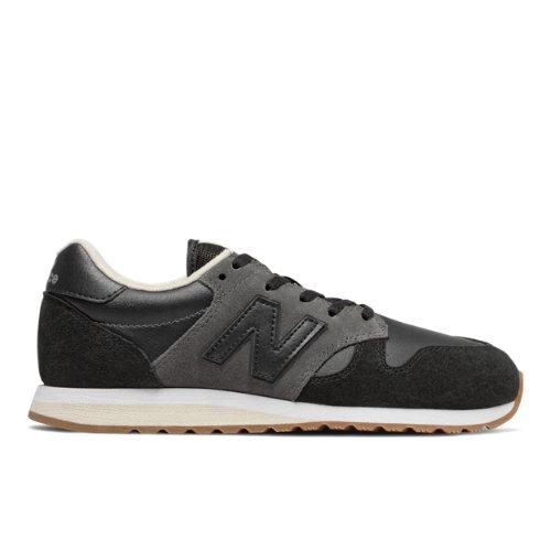 New Balance 520 70's Women's Running Classics Shoes - Black (WL520FB)