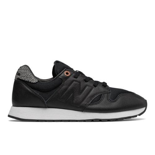 New Balance 520 NB Grey Women's Running Classics Sneaker Shoes - Black / Brown (WL520GY)