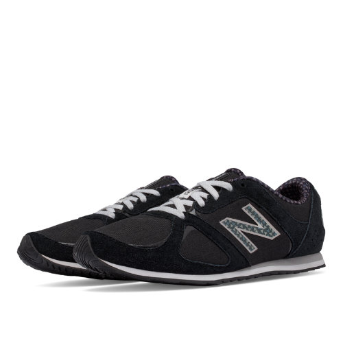 New Balance 555 Graphic New Balance Women's Shoes - Black (WL555BG)