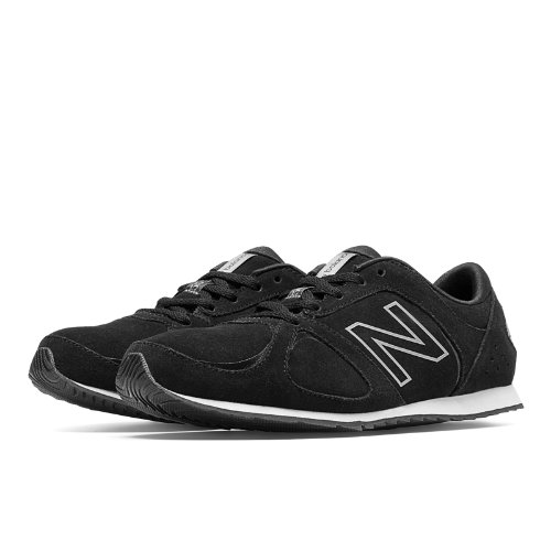 New Balance 555 Women's Running Classics Shoes - Black (WL555BK)