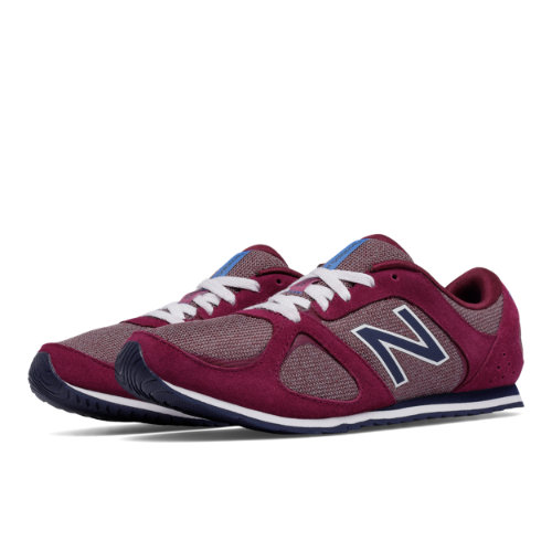 New Balance 555 Women's Casuals Shoes - Pink / Navy (WL555DJ)