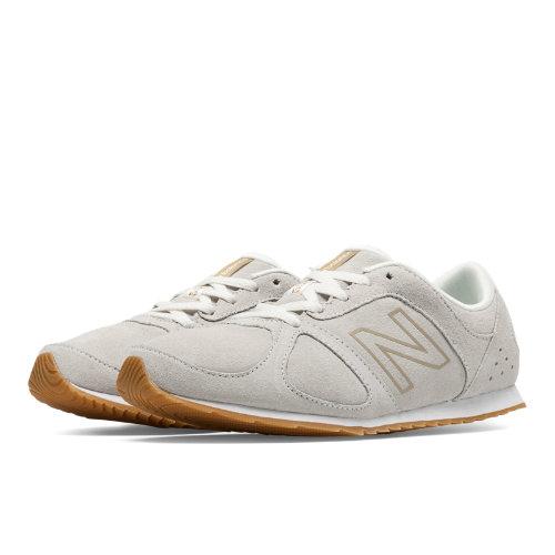 New Balance 555 Women's Running Classics Shoes - Cream (WL555WG)