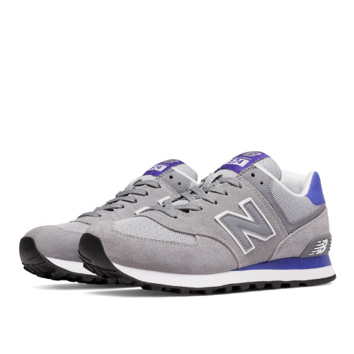 New Balance 574 Women's Shoes - Steel / Spectral (WL574CPK)