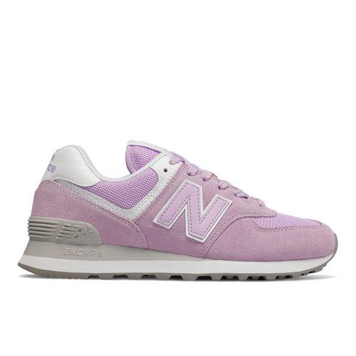 New Balance 574 Essentials Women's Valentine Shoes - Violet (WL574ESD)