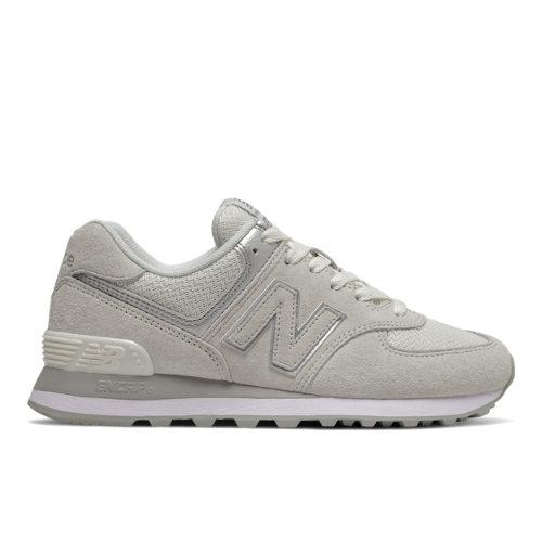 New Balance 574 Women's Running Classics Shoes - Off White (WL574EX)