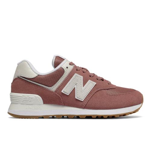 New Balance 574 Summer Dusk Women's Shoes - Light Red (WL574FLD)