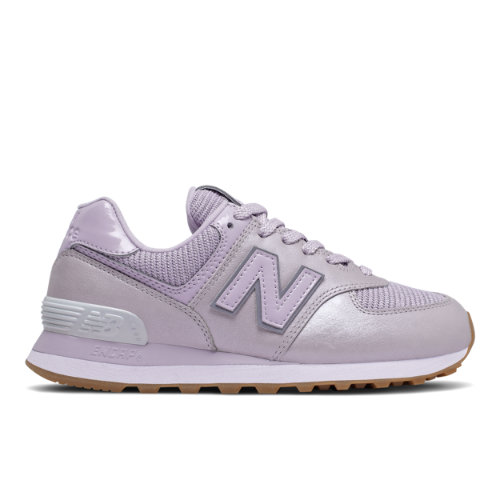 New Balance 574 Women's Running Classics Shoes - Purple (WL574PMC)