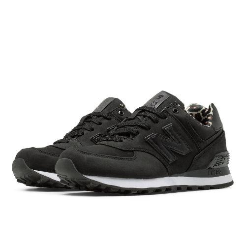 New Balance High Roller 574 Women's 574 Shoes - Black (WL574SPK)
