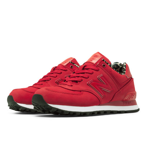 New Balance High Roller 574 Women's 574 Shoes - Red (WL574SPR)