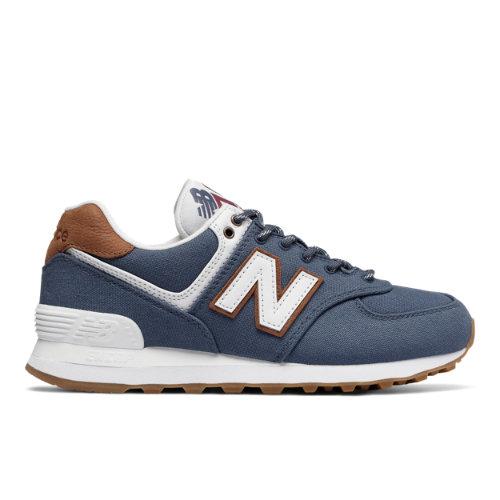New Balance 574 Women's Sneakers Shoes - Vintage Indigo (WL574SYD)
