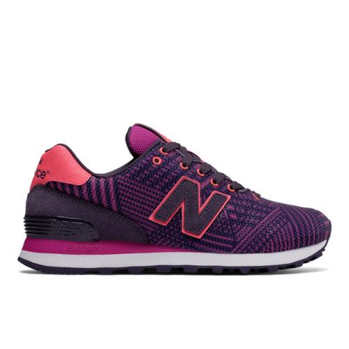 New Balance 574 Beaded Women's 574 Shoes - Purple (WL574TBE)
