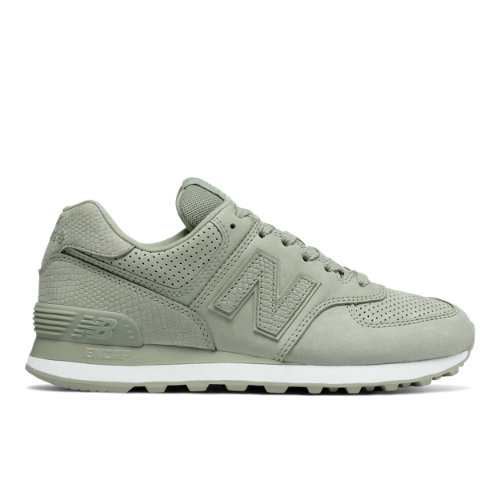 New Balance 574 Serpent Luxe Women's Shoes - Light Green (WL574URV)