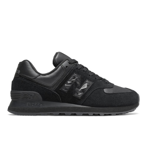 New Balance 574 Mystic Crystal Women's Lifestyle Shoes - Black (WL574WNV)