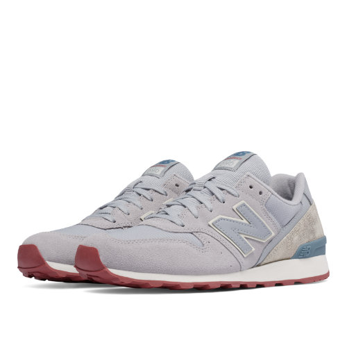 New Balance 696 Women's Shoes - Silver Mink / Powder / Riptide (WL696CCA)