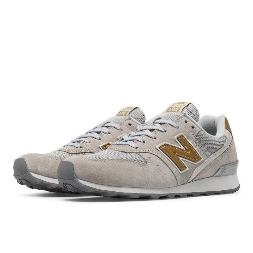New Balance 696 Exclusive Women's Running Classics Shoes - Grey (WL696DGR)
