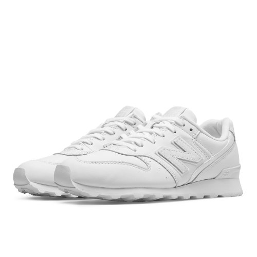 18e947acaee8 New Balance 696 Leather Women s Running Classics Shoes - White (WL696JS)