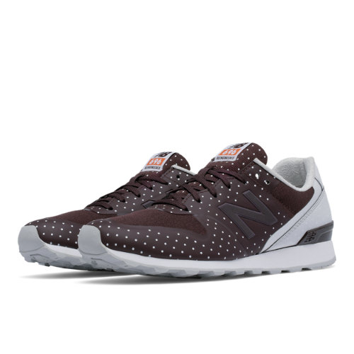 New Balance 696 Re-Engineered Women's Sport Style Shoes - Red (WL696KC)