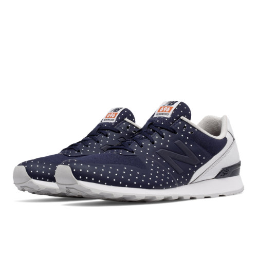New Balance 696 Re-Engineered Women's Sport Style Shoes - Navy (WL696KP)