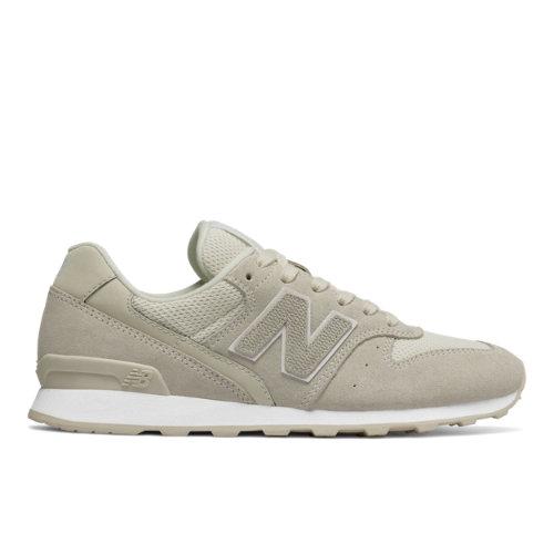 New Balance 696 Women's Running Classics Shoes - Grey (WL696LCB)