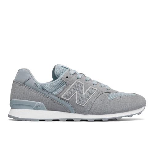 New Balance 696 Women's Running Classics Shoes - Light Blue (WL696LCC)