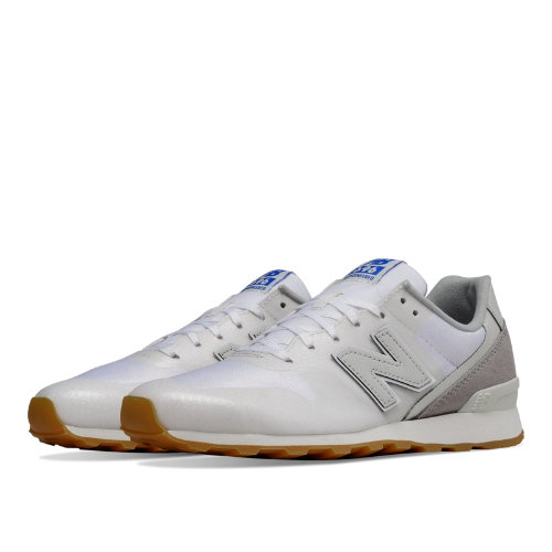 New Balance 696 Re-Engineered Women's Shoes - White / Light Grey (WL696WA)