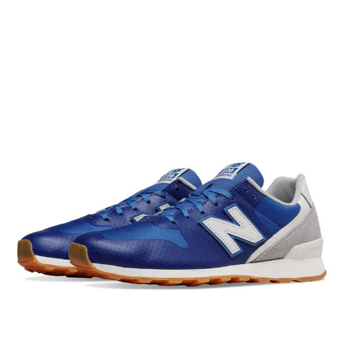New Balance 696 Re-Engineered Women's Shoes - Blue / Light Grey (WL696WE)
