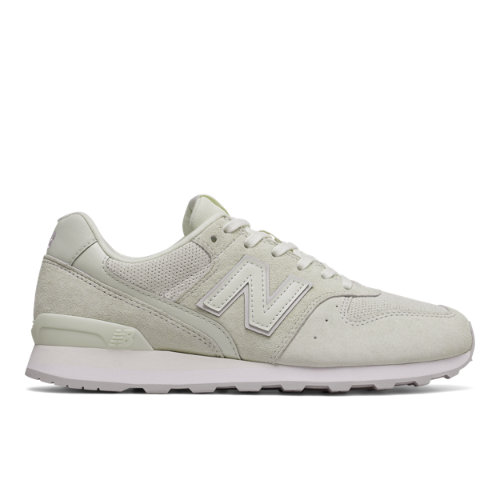 New Balance 696 Suede Women's Running Classics Shoes - Off White (WL696WPB)