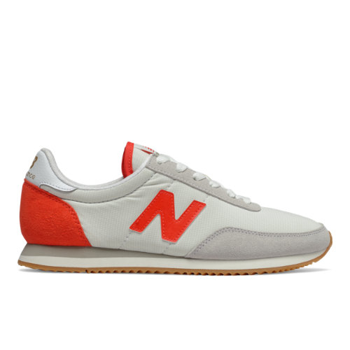 New Balance 720 Women's Running Classics Shoes - Off White / Red (WL720WA)