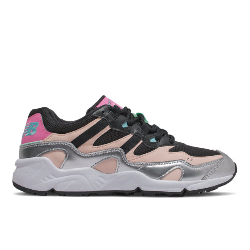 New Balance 850 Women's Running Classics Shoes - Silver / Pink (WL850LBE)