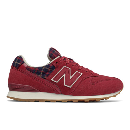 New Balance 996 Women's Running Classics Shoes - Red (WL996CG)