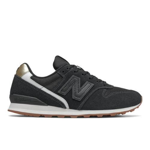 New Balance 996 Women's Running Classics Shoes - Black (WL996NA)