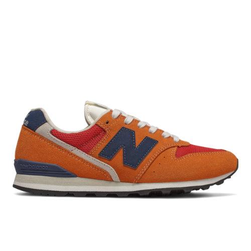 New Balance 996 Women's Running Classics Shoes - Orange (WL996SVC)