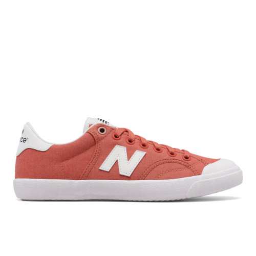 New Balance ProCourt Canvas Women's Court Classics Shoes - Pink / White (WLPROSPC)