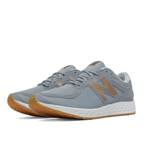 New Balance Fresh Foam Zante Rose Gold Women's Shoes - Steel / Iridescent Copper (WLZANTAB)