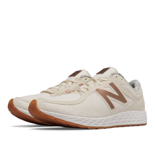 New Balance Fresh Foam Zante Textile Women's Shoes - Angora / Iridescent Copper (WLZANTAC)
