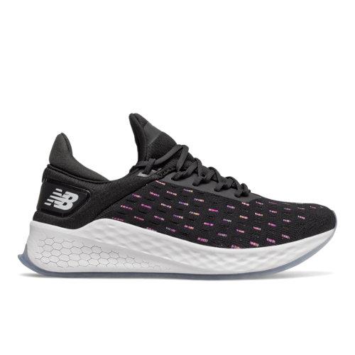 New Balance Fresh Foam Lazr v2 HypoKnit Women's Running Shoes - Black (WLZHKRB2)