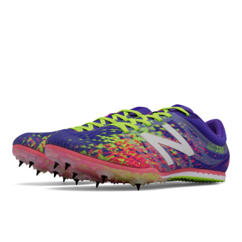 New Balance MD500v5 Spike Women's Track Spikes Shoes - Purple / Yellow / Pink (WMD500P5)